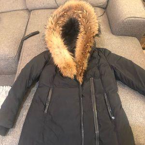 Mackage fur trim down coat